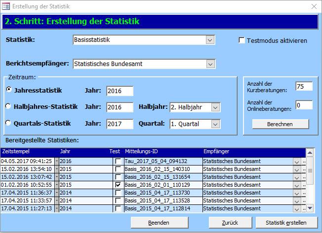 Bundesstatistik