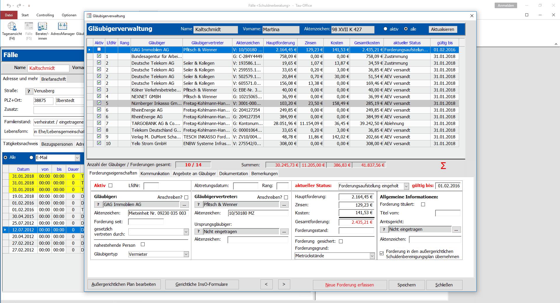 Gläubigerverwaltung-compressor