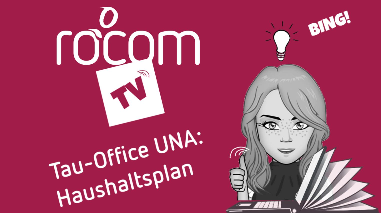 Software-Tau-Officce UNA, haushaltsplan erstellen-videoanleitung