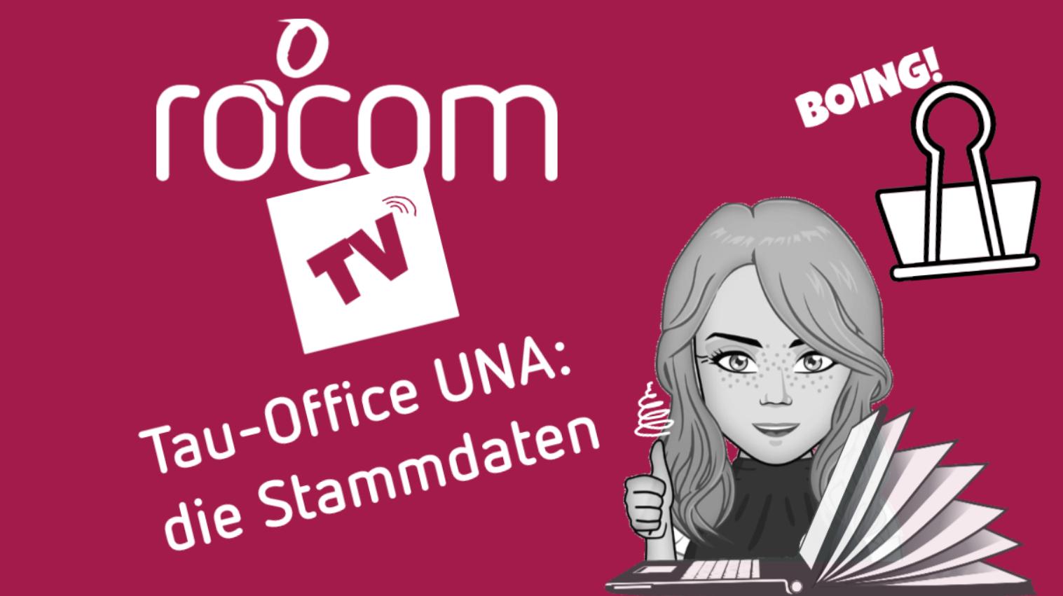 Video Stammdaten anlegen in Tau-Office UNA, der Software für Schuldnerberater